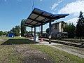 Esztergom train station, petrol station.jpg