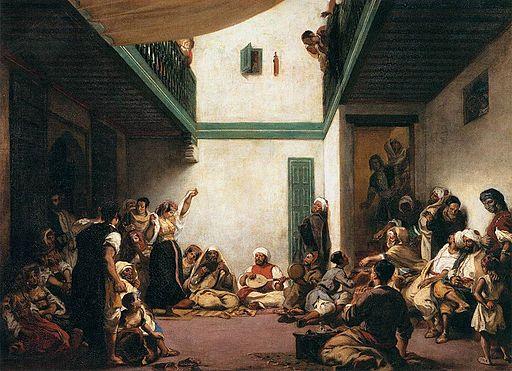 """Jewish Wedding in Morocco"" by Eugène Delacroix"
