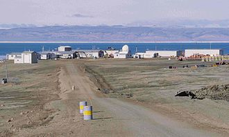 Eureka, Nunavut - Eureka seen from its airfield