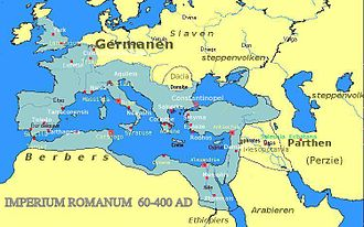 AD 60 - The Roman Empire in 60