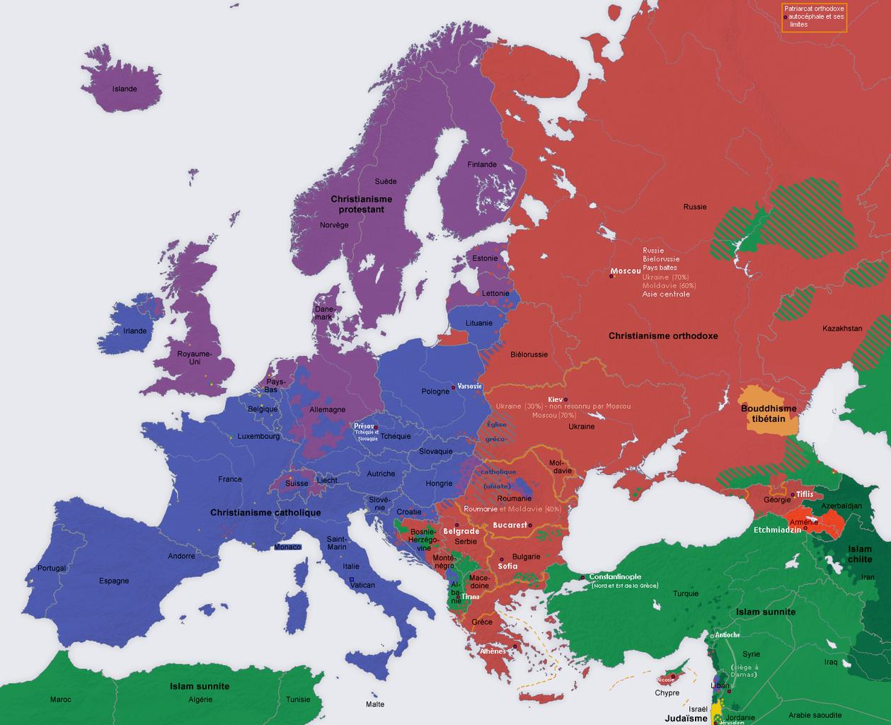 CIA pokrenula woke kampanju gdje slavi raznolikost svojih uposlenika - Page 2 1259px-Europe_religion_map_situation_1950_fr