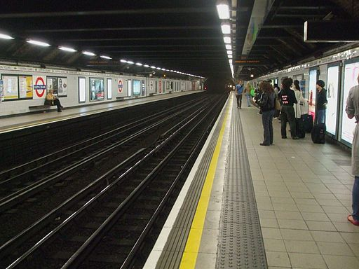 Euston Square stn look east