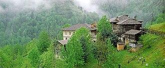 Pontus (region) - Traditional rural Pontic house.