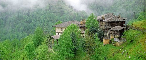 Traditional rural Pontic house.