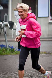 Evy Palm Swedish long-distance runner