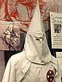 Exhibit with Statue of Ku Klux Klan Member - National Civil Rights Museum - Downtown Memphis - Tennessee - USA.jpg