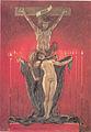 Félicien Rops - Les Sataniques. Le calvaire.jpg
