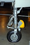 F-105 nosewheel detail, National Museum of the US Air Force, Dayton, Ohio, USA. (46335637092).jpg