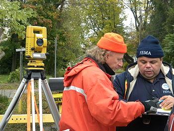 FEMA - 42252 - Surveyors in New York