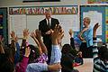 FEMA - 43851 - Deputy Administrator Serino with school children in Massachusetts.jpg
