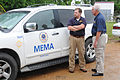 FEMA - 43968 - MEMA Officials and Vehicle at Disaster Service Center in Mississippi.jpg