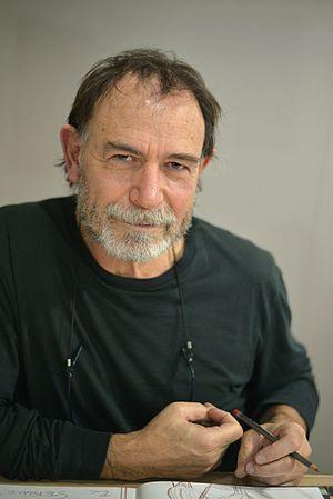 Lorenzo Mattotti - Lorenzo Mattotti at Angoulême International Comics Festival in 2015.