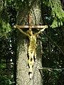 Fabova hoľa, sedlo Burda, kříž 01.jpg