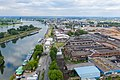 Fabrikhallen der ehemaligen Gasmotorenfabrik Deutz, Klöckner-Humboldt-Deutz, Westwaggon, Köln-Mülheim - Luftaufnahme-0914.jpg