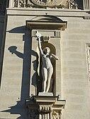 Estatua en el Palacio de Justicia, París