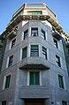 Facciata angolare del palazzo di via San Vittore 34, Miano, angolo via Bandello.jpg