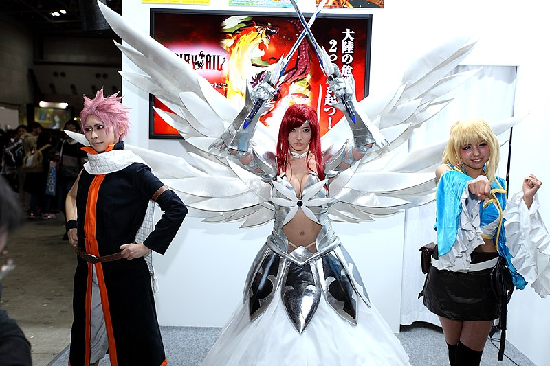 File:Fairy Tail cosplayers at AnimeJapan 20150321.jpg
