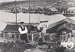 Grellson-familie i Trysunda, 1895