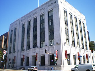 Federal Reserve Bank of San Francisco, Los Angeles Branch - Former Federal Reserve Bank of San Francisco, Los Angeles Branch building