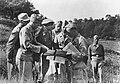 Feldmarszałek Wolfram Freiherr von Richthofen podczas narady na froncie włoskim (2-2094).jpg