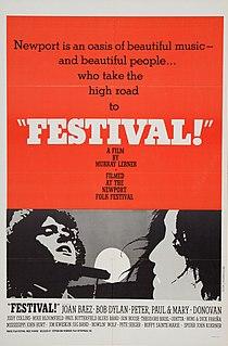 <i>Festival</i> (1967 film) 1967 film by Murray Lerner