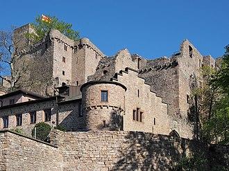 Baden - Image: Festung Schloss Hohenbaden