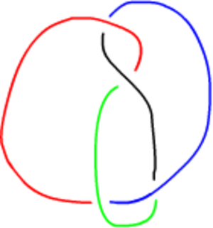 Tricolorability - Image: Figure 8Knot 4