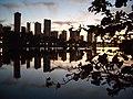 Fim de tarde em Londrina - Ao meu amigo parruco - panoramio.jpg
