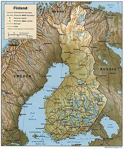 kart over polarsirkelen Finsk geografi – Wikipedia kart over polarsirkelen