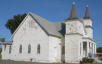 First African Baptist Church and Parsonage (Waycross, Georgia) - Side view