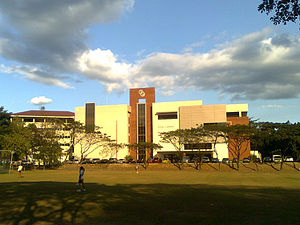 Rizal Library - The First Pacific Hall of the Rizal Library
