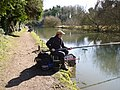 Fishermen in focus on the Kennet and Avon canal - geograph.org.uk - 1760824.jpg