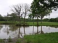 Fishing pond, Morchard Road - geograph.org.uk - 453007.jpg