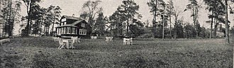 Munkkiniemi - Kalastajatorppa (Fisherman's cottage) park in 1915