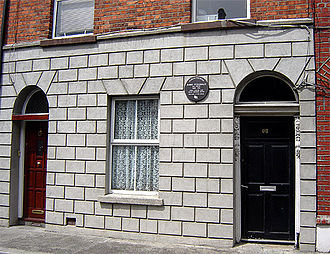 Barry Fitzgerald - Birthplace of Barry Fitzgerald on Walworth Road, Portobello, Dublin