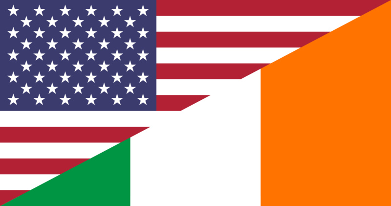 File:Flag of the United States and Ireland.png