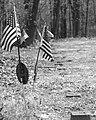 Flags VeteranGraveMarkers B+W.jpg
