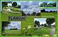 Flansum is gelegen op een terp met verschillende verspreid staan boerderijen.jpg