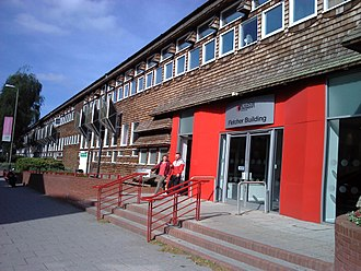 De Montfort University - The Fletcher Building of the former Faculty of Art and Design