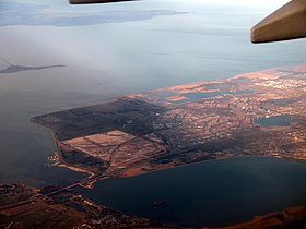 Flevoland seen from the plane.jpg