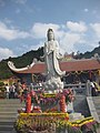 Flickr. Chùa Phật Tích Trúc Lâm, Bản Giốc, 02-04-2015 (2) Tượng Phật Bà Quan Âm.jpg