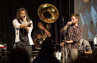 Flobots - Flobots performing at National Conference for Media Reform in 2013.