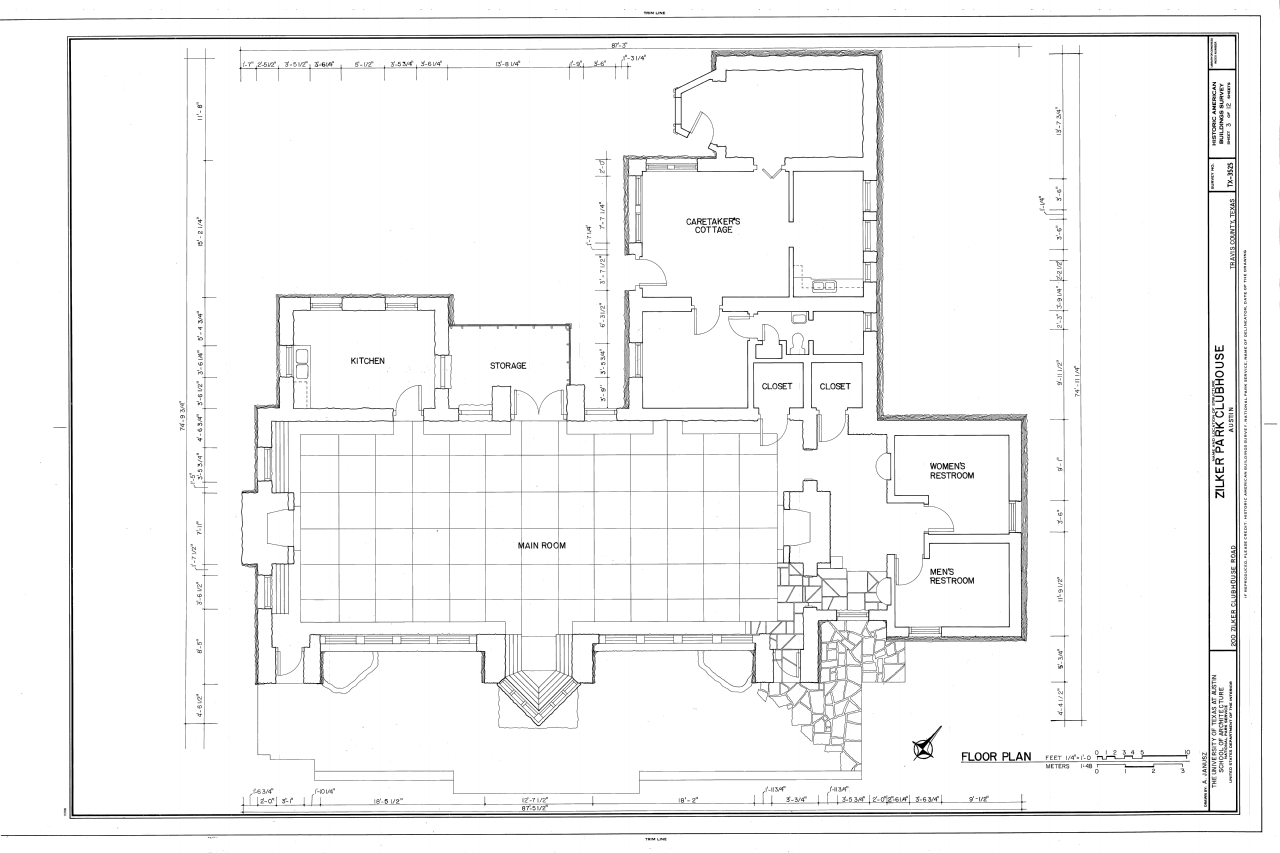 Texas Ranch House Plans