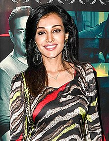 Flora Saini at the special screening of the film Level13.jpg