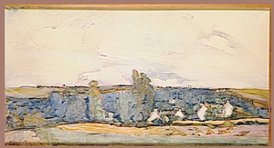 Florence Esté -  Florence Esté, Un Bourg breton, purchased by the French government in 1918