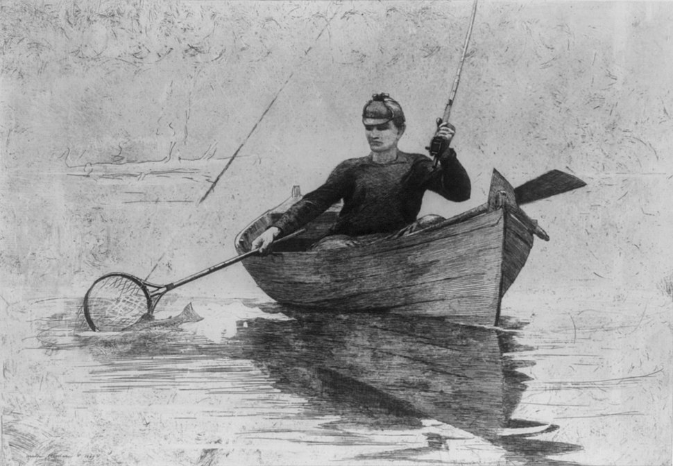 Flyfishing - Winslow Homer