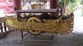 Flying cart for Setting up umbrella on Pagodasi n Myanmar.JPG
