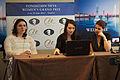 Fondation Neva Women's Grand Prix Geneva 11-05-2013 - Nana Dzagnidze and Kateryna Lagno during the press conference.jpg