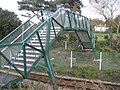 Footbridge, north of Lympstone railway station - geograph.org.uk - 1029153.jpg