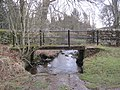 Footbridge over the Bradley Burn - geograph.org.uk - 1772127.jpg